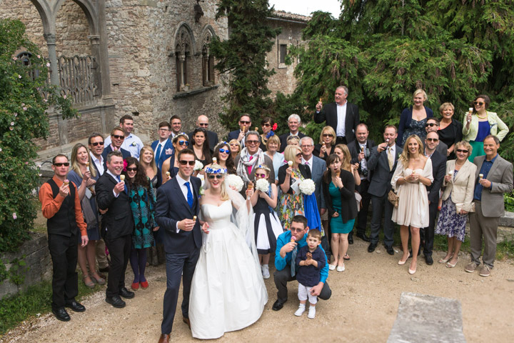 English wedding in Umbria