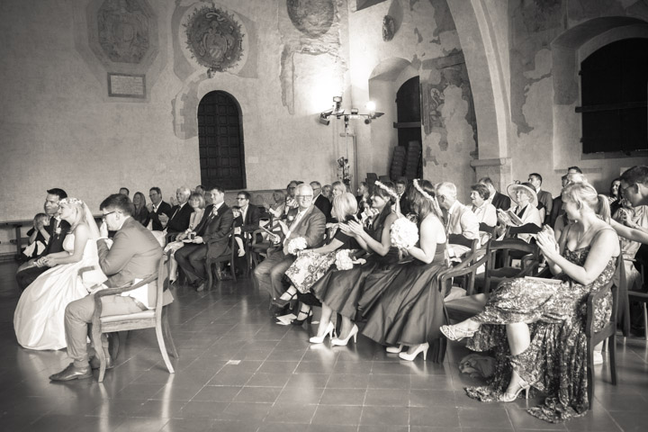 English wedding in Italy